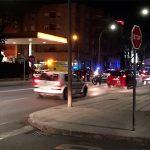 Trasladado al hospital un motorista accidentado en la Ronda de Toledo