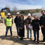 Ciudad Real: Zamora estima que las obras de los nuevos almacenes municipales estarán concluidas antes de que acabe el año