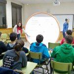 Alumnos del IES 'Alonso Quijano' han participado esta semana en talleres de bullying y ciberbullying en Argamasilla de Calatrava