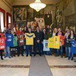 Caballero firma con los clubes deportivos de categorías nacionales los convenios de subvenciones nominativas