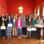 La Cámara y el Ayuntamiento entregan el sello 'Empresa comprometida con el empleo juvenil' a más de una veintena de empresarios de Tomelloso