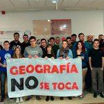 Ciudad Real: Alumnos y profesores se encierran en la Facultad de Letras como protesta ante el cierre de Geografía