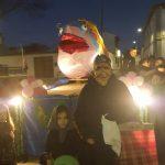 Más de cien personas despiden a la sardina en Las Casas