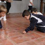 Escolares de Infantil y Primaria conocen los juegos de antaño y otras tradiciones de Almodóvar del Campo