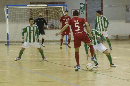 25/03/2017: Partido en el pabellon deportivo amate entre el Real Betis Futsal y el Puertollano. Víctor Rodríguez/Diario de Sevilla BetisFutsal-Puertollano