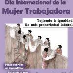 Ciudad Real: Colectivos católicos organizan un acto en conmemoración del Día Internacional de la Mujer Trabajadora