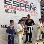 El ciudadrealeño Jerónimo Costa se proclama campeón de España de Jiu jitsu brasileño cadete