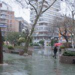 Nieva copiosamente en Ciudad Real