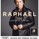 Raphael actuará en Bolaños de Calatrava con motivo de sus fiestas patronales de septiembre