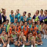 El Club Vertical Split arrasa y consagra a Puertollano como potencia nacional de gimnasia aeróbica