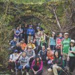 Colectivo Wilderness organizó una ruta senderista este domingo por Santa María de Trassierra