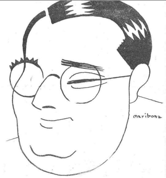 Artemio Precioso. Fuente: Muchas gracias (5.5.1928)