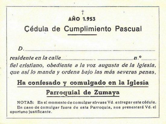 2. Cédula (1953)