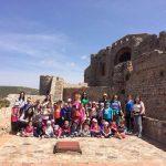 Aldea del Rey: Los escolares del Colegio 'Maestro Navas' visitan el Castillo de Calatrava y Villa Isabelica