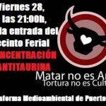 Puertollano: Antitaurinos protestarán durante la inauguración de la Feria de Mayocontra la entrada gratuita de menores a los toros