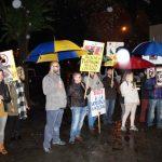 Puertollano: Chaparrón antitaurino en la inauguración de la Feria de Mayo