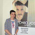 Antonio José actuará en la feria de Manzanares