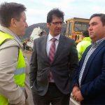 El presidente de la Diputación lamenta el fallecimiento de un trabajador del RSU