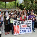 Sin señales divinas ni humanas: La comunidad de la guardería de Cáritas Puertollano volverá a concentrarse ante el Obispado