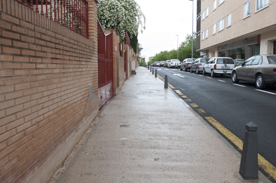 Ciudad real disgusto en larache por la gran chapuza de la calle tetu n - Unifamiliares ciudad real ...
