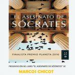 """Chicot presentará """"El asesinato de Sócrates"""" este lunes en la Biblioteca de Ciudad Real"""