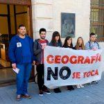 Ciudad Real: 2.500 firmas contra el cierre de Geografía
