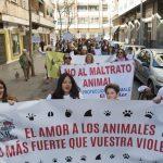manifestación contra el maltrato animal 10