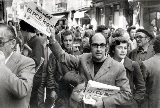 26 04 1977 LEGALIZACION DEL PARTIDO COMUNISTA ESPANOL