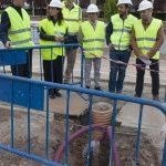 Ciudad Real: Se prevé que la renovación de tuberías de la Avenida de los Descubrimientos concluya antes de lo previsto