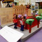 Los pasos procesionales en miniatura de los alumnos del colegio San José: toda una lección de imaginación