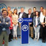 Cañizares presenta su precandidatura a presidir el PP de Ciudad Real arropado por líderes del partido