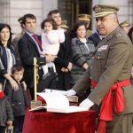 El puertollanero Francisco Javier Varela jura su mando como jefe de Estado Mayor del Ejército de Tierra