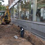 """Ciudad Real: Urbanismo achaca a bajantes y tuberías rotas del número 6 """"parte del problema"""" de la Plaza Cervantes"""