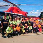 INFOCAM forma a Protección Civil Ciudad Real en la extinción de incendios con helicópteros