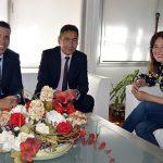 Pilar Zamora ofrece a Carrefour la colaboración del Ayuntamiento en la implantación de su hipermercado