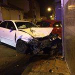 Brutal colisión en el centro de Puertollano