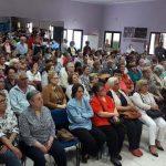 Puertollano: Una cruz iluminada en mayo en la barriada Santa Ana