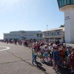 """La Base de Helicópteros """"Coronel Sánchez Bilbao"""" acoge cerca de 2.000 niños y adultos en su tradicional jornada de puertas abiertas"""