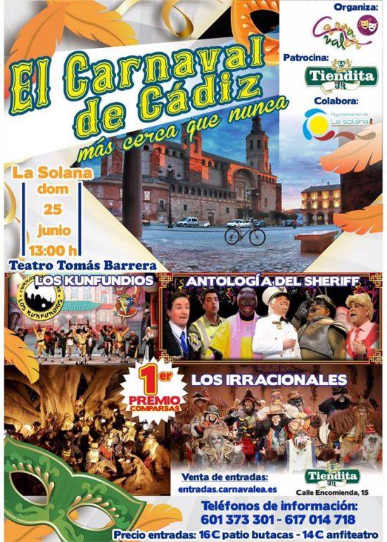 carnaval en La Solana