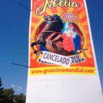 El Ayuntamiento de Ciudad Real sancionó al circo con 700 euros por la pegada de carteles sin autorización