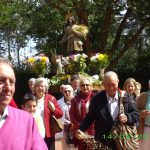 La Poblachuela celebra con mayos San Isidro