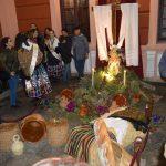 La dulcinea y sus damas se suman a la tradición de las cruces de mayo