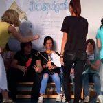 Campaña contra el maltrato realizada por los alumnos del IES Atenea