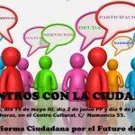 La Plataforma por el Futuro de Puertollano organiza cuatro encuentros ciudadanos con los grupos políticos del Ayuntamiento