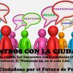 La Plataforma por el Futuro de Puertollano celebra este viernes el primero de sus encuentros ciudadanos con los grupos municipales