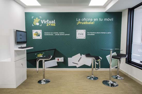 Globalcaja inaugura en albacete su primera oficina for Horario oficina agil bankia