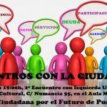 La Plataforma por el Futuro de Puertollano celebra este viernes un encuentro ciudadano con el grupo municipal de IU