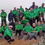 Puertollano: Los senderistas del Club Pozo Norte ascendieron al pico del Cerrillón en San Pablo de los Montes