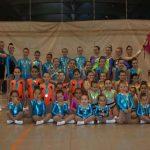 El Vertical Split de Puertollano sigue liderando la gimnasia aeróbica regional