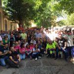Los trabajadores municipales celebran Santa Rita